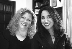 Natalie Aaron and Marla Schwartz, authors of Unscripted